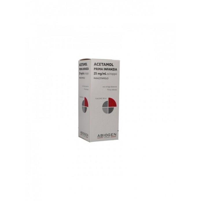 ACETAMOL*SCIR. 100 ML 2,5%