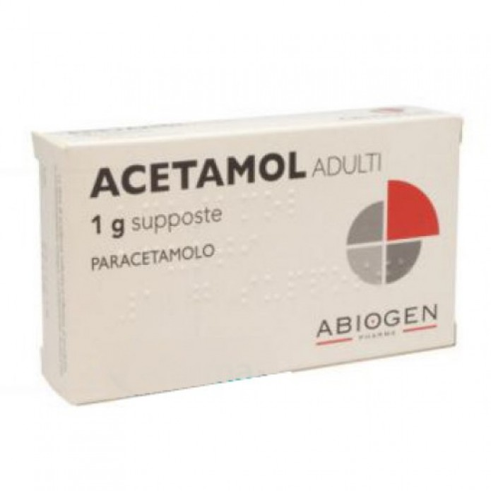 ACETAMOL*AD 10 SUP. 1 G