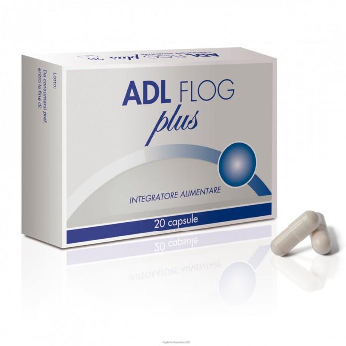 Adl Flog Plus 20 compresse - Integratore per il microcircolo e lo stress ossidativo