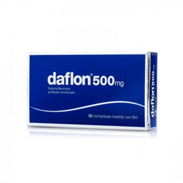 Daflon 30 compresse rivestite 500 mg Integratore per l'insufficienza venosa