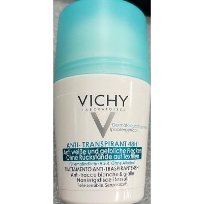 Vichy Deodorante Roll-On Trattamento Anti-Traspirante 48 h  50 ml