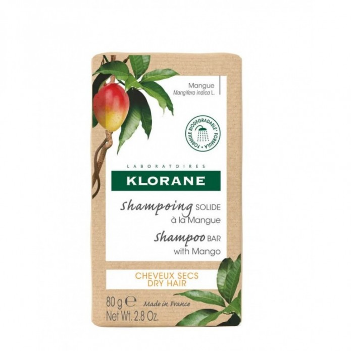 Klorane Shampoo Solido Mango