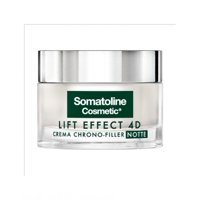 SOMATOLINE COSMETIC LIFT EFFECT 4D CREMA FILLER NOTTE 50ML