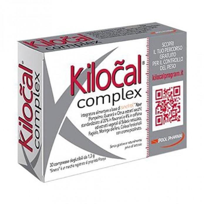 Kilokal Complex 30 Compresse - Integratore alimentare per il controllo del peso corporeo