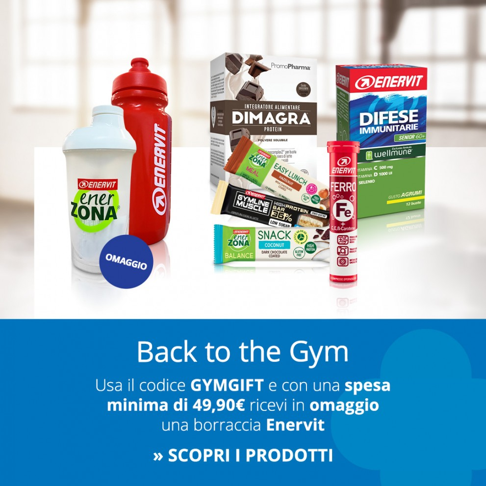 Promo back to the gym