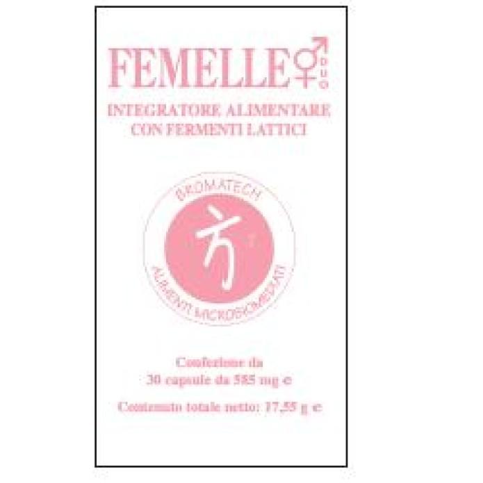 Femelle Integratore Alimentare Con Fermenti Lattici Per L'Equilibrio Della Flora Intestinale  30 capsule