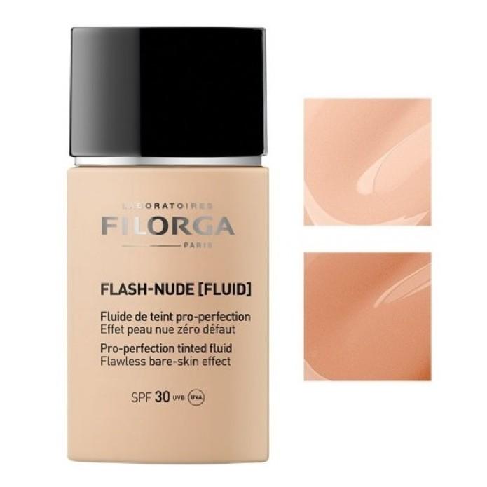 Filorga Flash Nude 02 Gold -  Fondotinta fluido doppia azione immediata + duratura effetto nudo