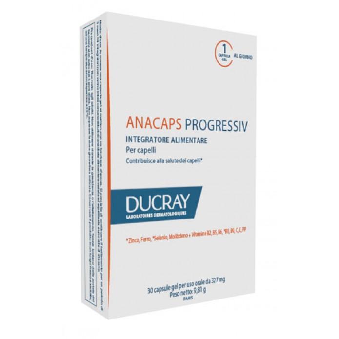 Anacaps Progressiv 30 capsule Integratore per la salute dei capelli contro la caduta