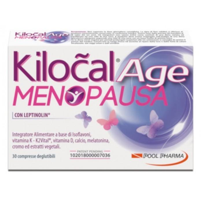 Kilocal Age Menopausa 30 Compresse - Integratore naturale per i disturbi legati alla menopausa