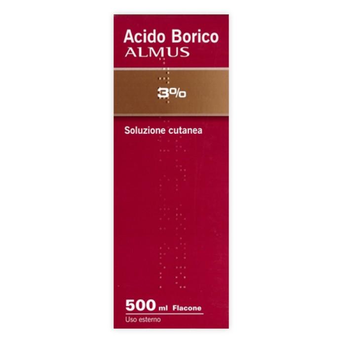ACQUA BORICA*3% 500ML