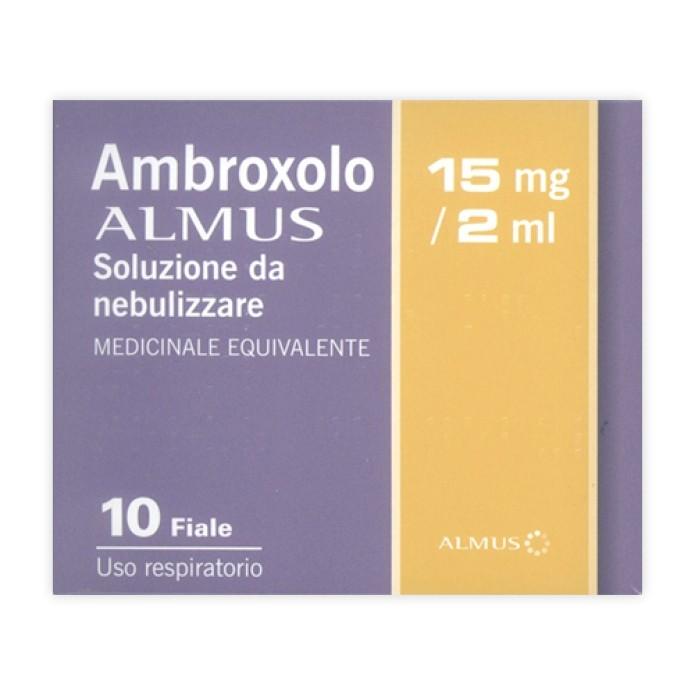 AMBROXOLO AL.*NEBUL 10F 15MG/2