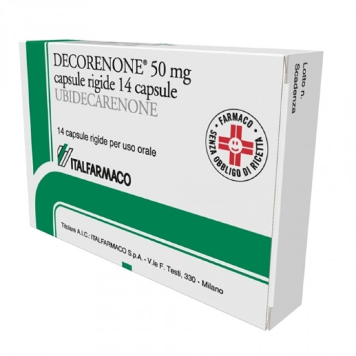 DECORENONE-50*14 CPS 50 MG