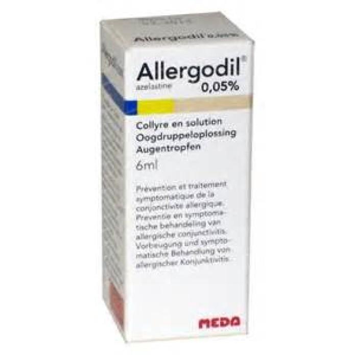 Allergodil 0,5 mg/ml collirio 6 ml - Gocce per congiuntiviti allergiche