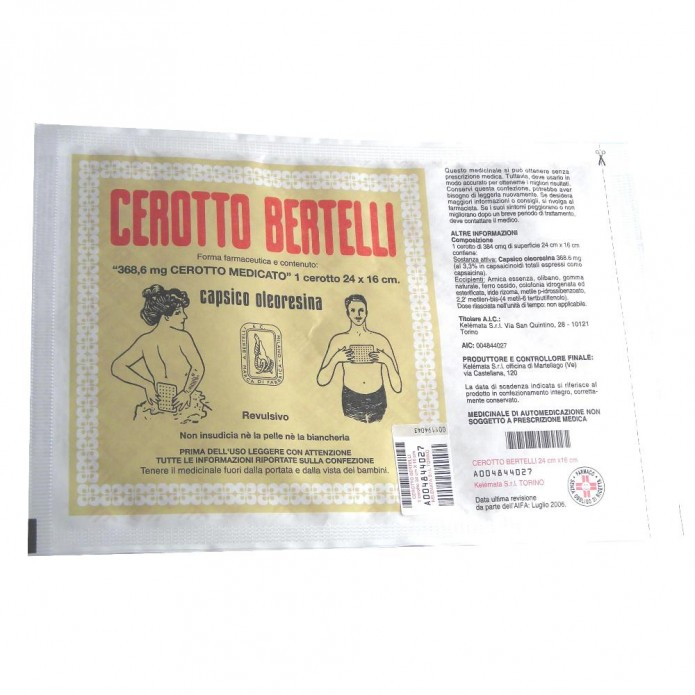 BERTELLI Cer.MED Grande 16x24