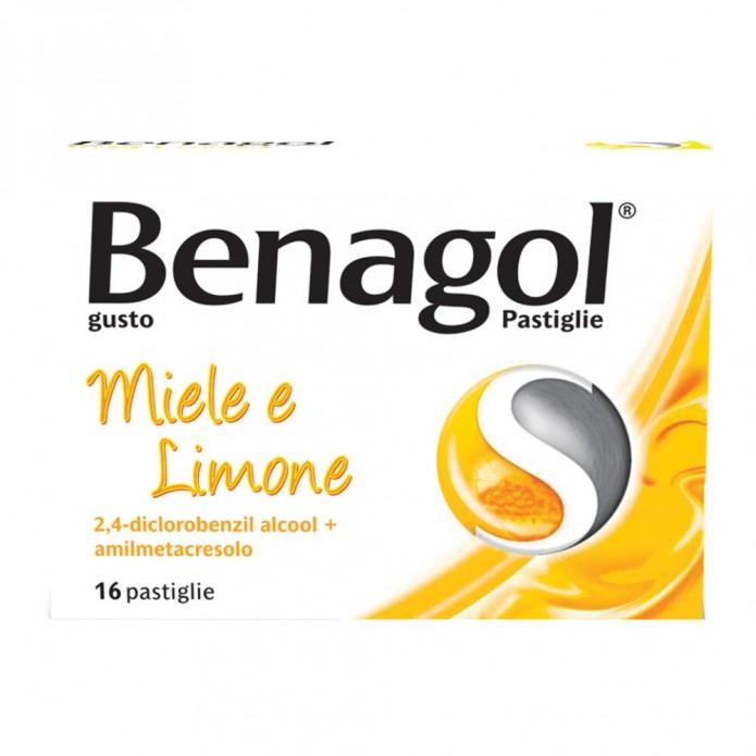 Benagol*16past Miele Limone