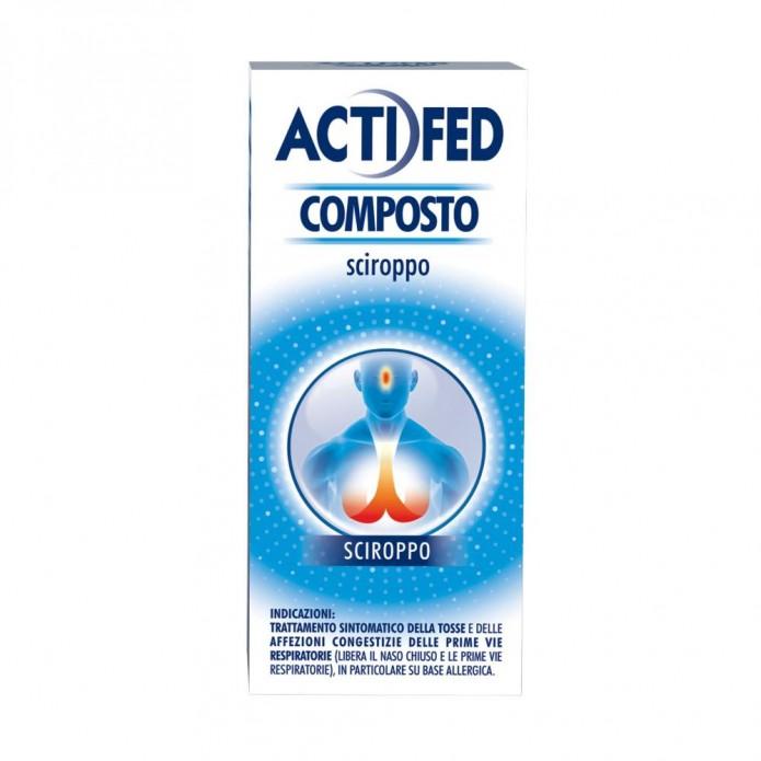 ACTIFED COMPOSTO*SCIR. 100ML