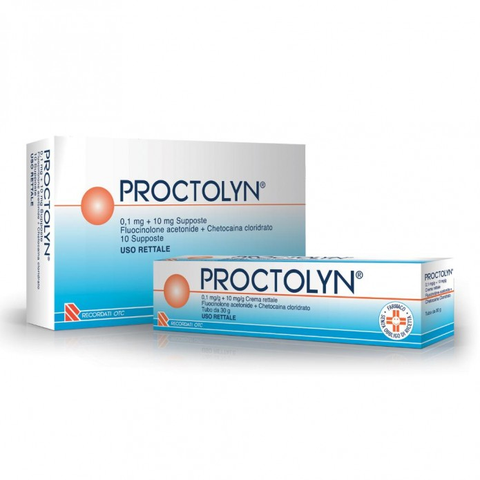 Proctolyn*10supp 0,1mg+10mg