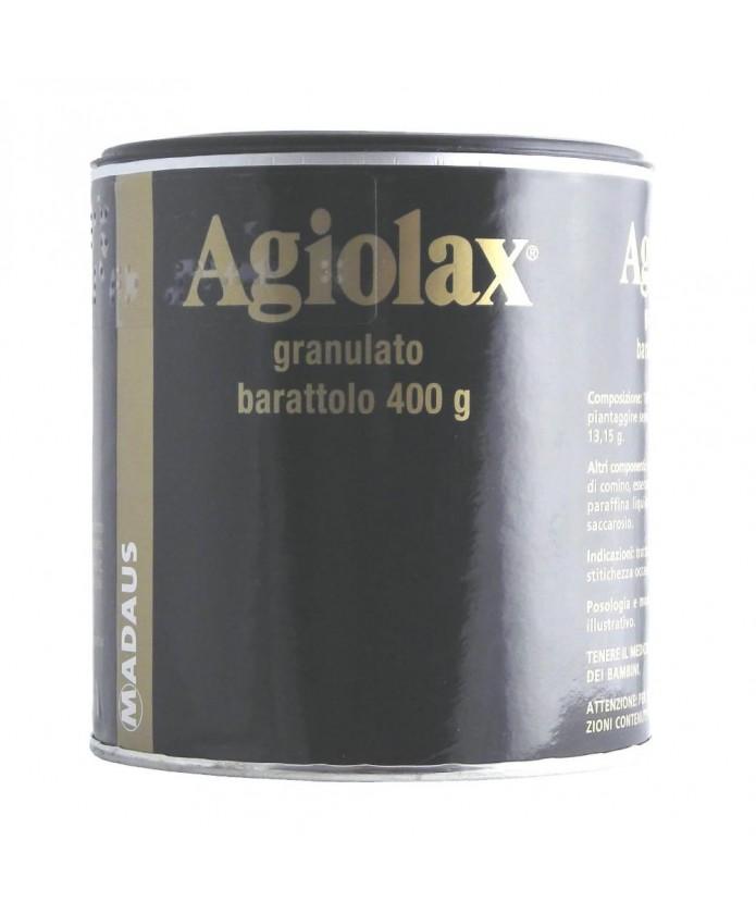 Agiolax granulato orale barattolo 400 g - Trattamento per la stitichezza occasionale