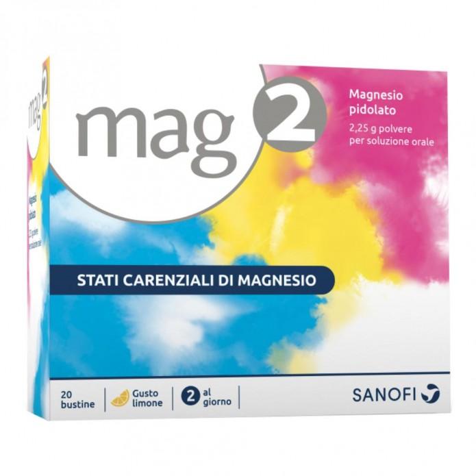 Mag 2 granulato orale 20 buste 2,25 g Integratore di magnesio