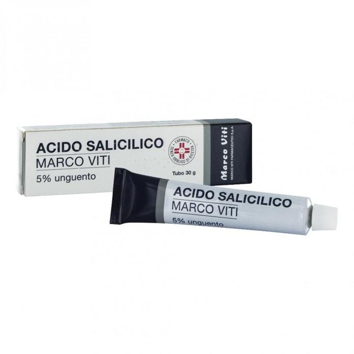 ACIDO Salic.Ung. 5%  30g VITI