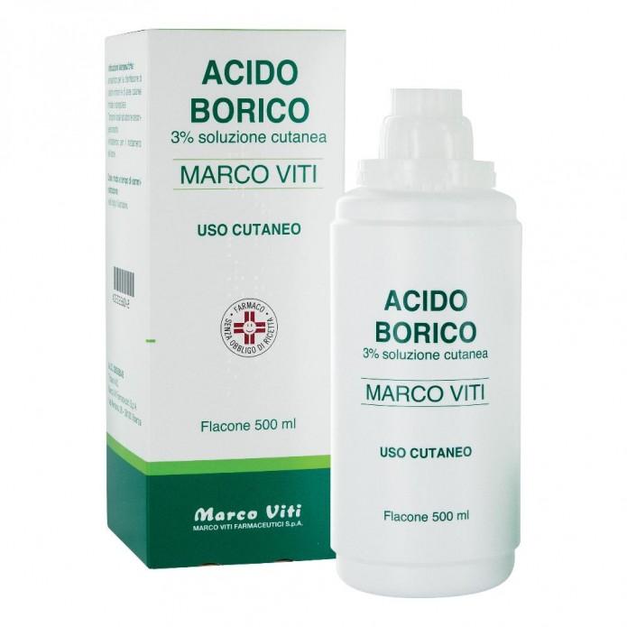 ACIDO BORICO M.VITI*3% 500ML