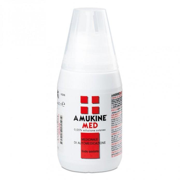 Amukine Med Soluzione Cutanea 250 ML al 0,05%