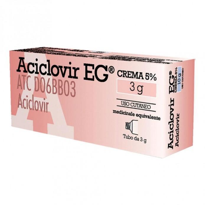 Aciclovir Eg*cr 3g 5%