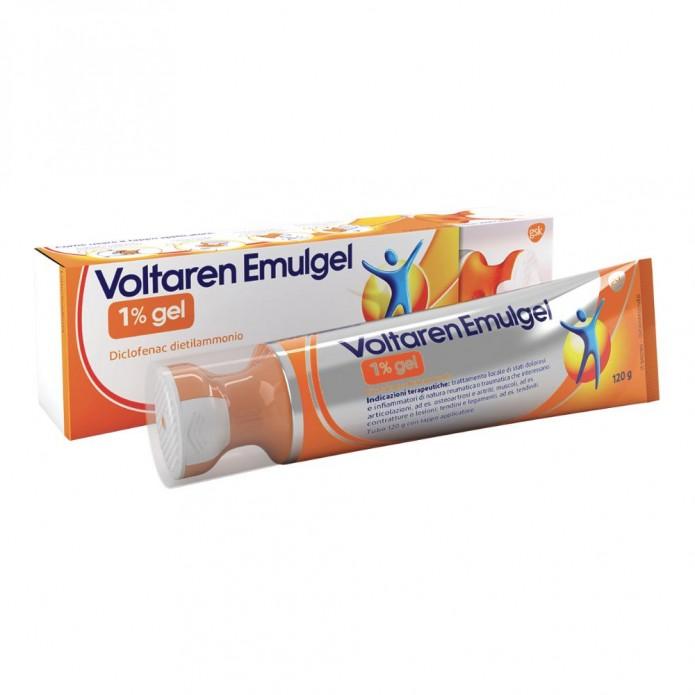 Voltaren Emulgel gel 120 g 1% Trattamento locale per stati dolorosi