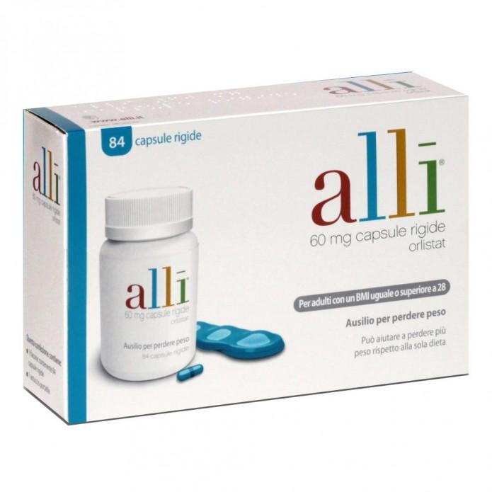 Alli 84 capsule 60 mg - Farmaco per la perdita di peso