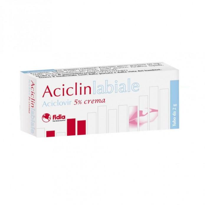 ACICLINLABIALE*CREMA 2G 5%