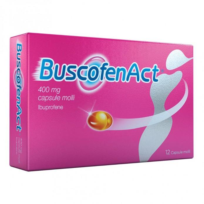 Buscofenact 12 Capsule 400mg - Analgesico e Antinfiammatorio