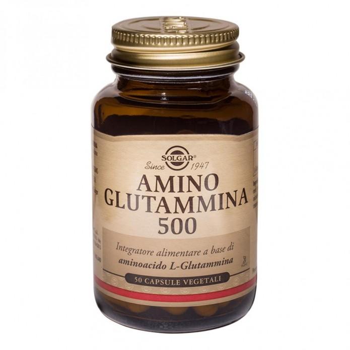 AMINO GLUTAMMINA 500 50CP SOLGAR
