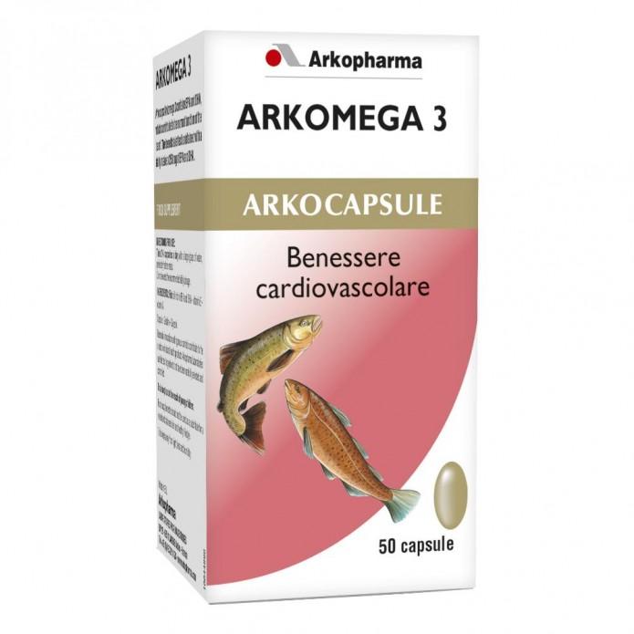 ARKOMEGA*3 Colesterolo 50 Cps