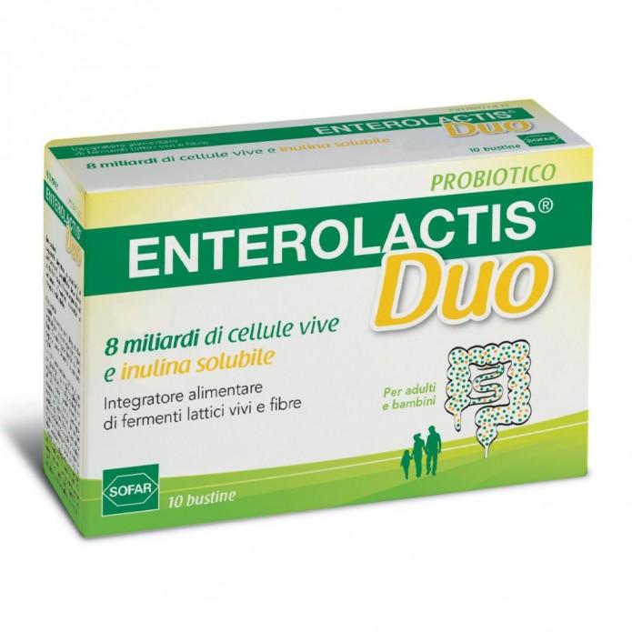 ENTEROLACTIS-DUO POLV 10 BUST