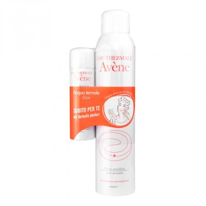 Avene Acqua Termale Spray 300 ml - Acqua termale per pelli sensibili con acqua termale 50ml OMAGGIO