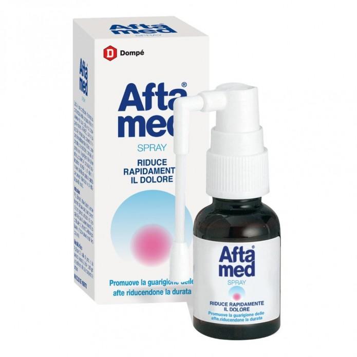 Aftamed Spray 20 ml - Trattamento per afte e stomatiti