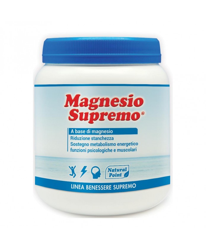 Magnesio Supremo 300 g Natural Point