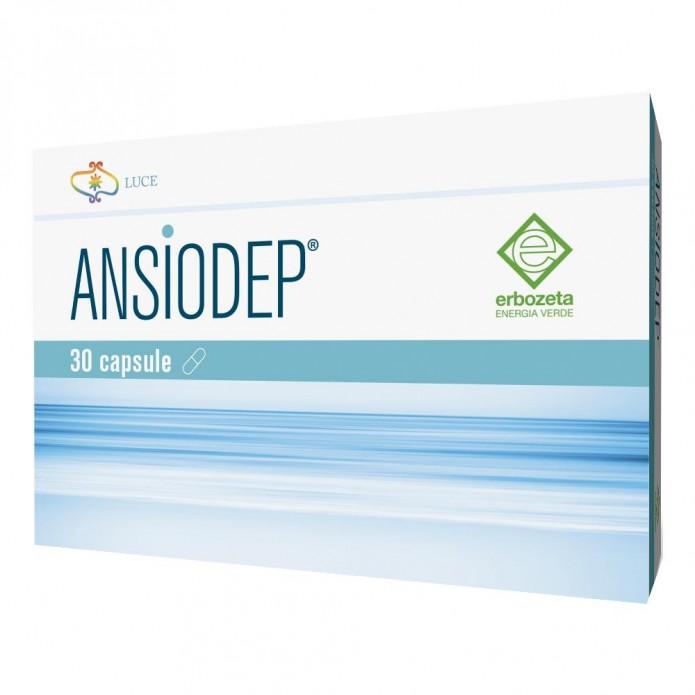 Ansiodep 30 capsule 325 mg - Integratore per rilassamento e benessere mentale