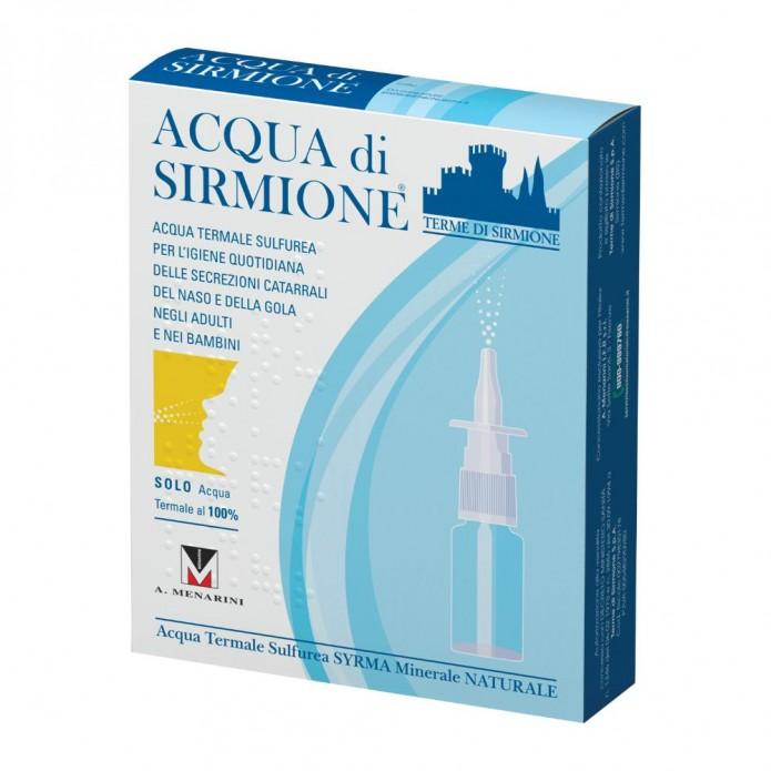 Acqua di Sirmione spray 6 flaconcini 15 ml - Spray nasale all'acqua termale