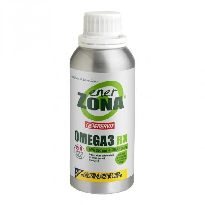 Enerzona Omega 3RX 210 capsule Integratore di Omega 3 per il controllo del colesterolo