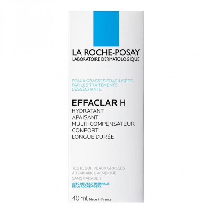 Effaclar H 40 ml Trattamento idratante compensatore lenitivo