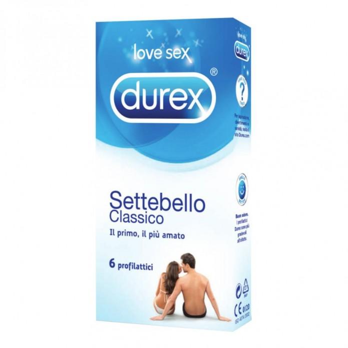 Durex profilattici Settebello 6 pezzi