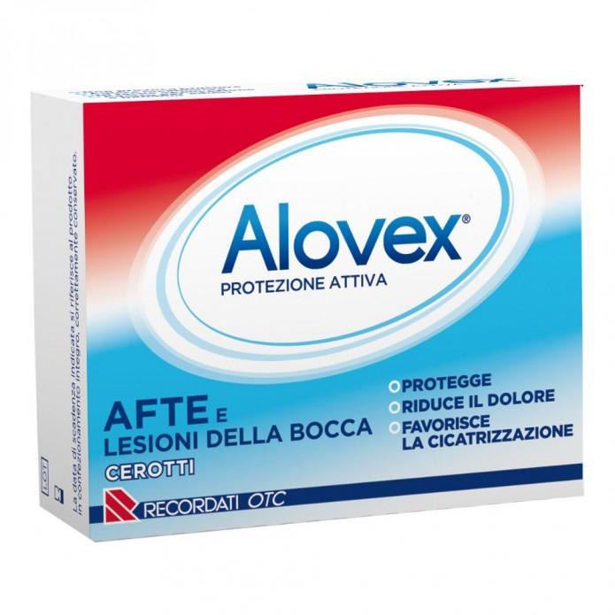 Alovex Protezione Attiva 5 Cerotti Contro Le Afte - Attenua Il Dolore ed Aiuta la Cicatrizzazione