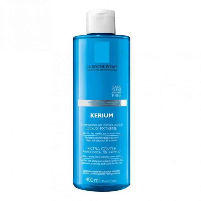 Kerium Doux Extreme Shampoo Gel 400 ml Shampoo per cuoio capelluto sensibile e capelli normali