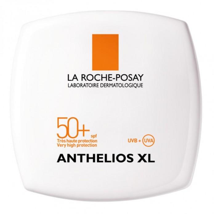 Anthelios XL Crema Compatta Uniformante SPF 50+ T02 Gold Crema compatta alta protezione