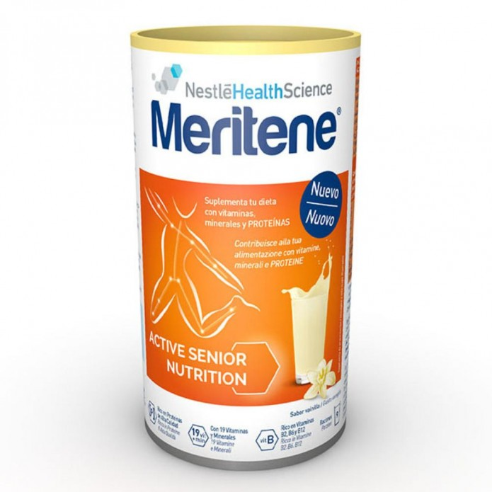 Meritene Vaniglia 270 g Integratore di proteine e vitamine
