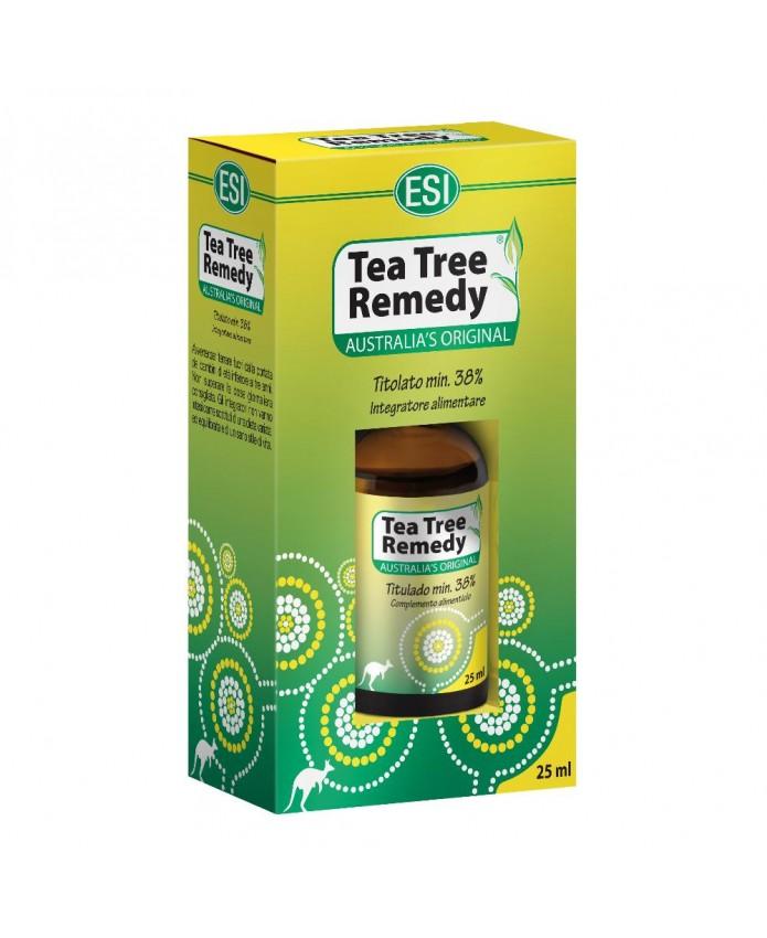 Tea Tree Oil 25 ml Olio antisettico e antimicrobico