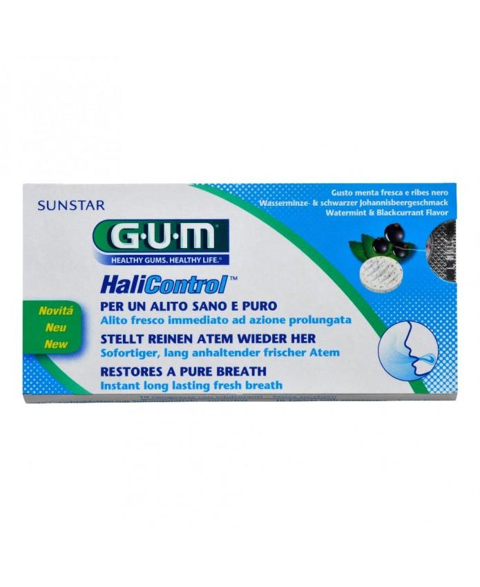 GUM HALICONTROL COMPRESSE 10PZ