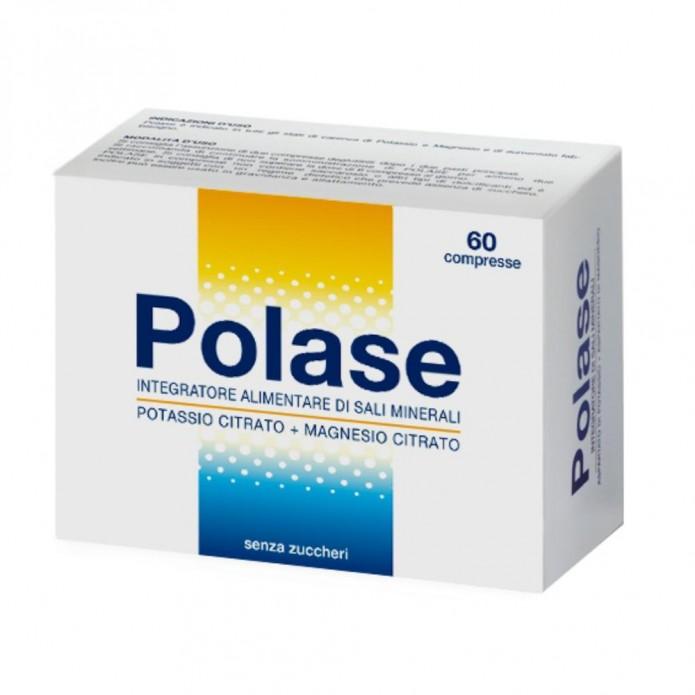 Polase 60 Compresse Senza Zucchero - Integratore Di Sali Minerali Potassio E Magnesio