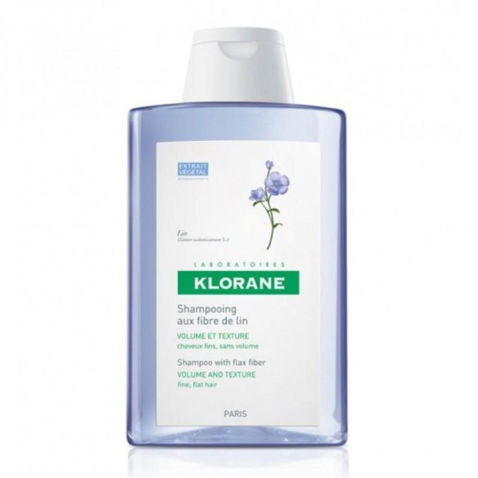 KLORANE SH FIBRE LINO VOLUM400ML
